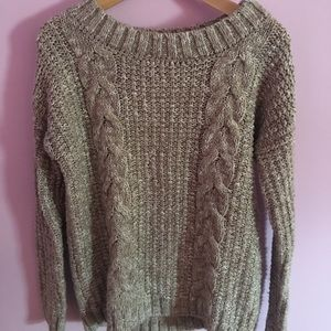 GARAGE cable knit sweater